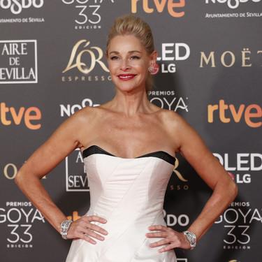Premios Goya 2019: Belén Rueda decepciona con un estilismo totalmente desfasado