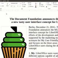 LibreOffice presenta sus interfaces MUFFIN, cuatro nuevos aspectos para adaptar la suite a tu gusto