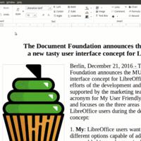 LibreOffice presenta sus interfaces MUFFIN, cuatro nuevos aspectos para adaptar la suite a tu gusto