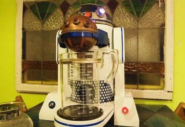 Cafetera R2-D2 para fans de Star Wars