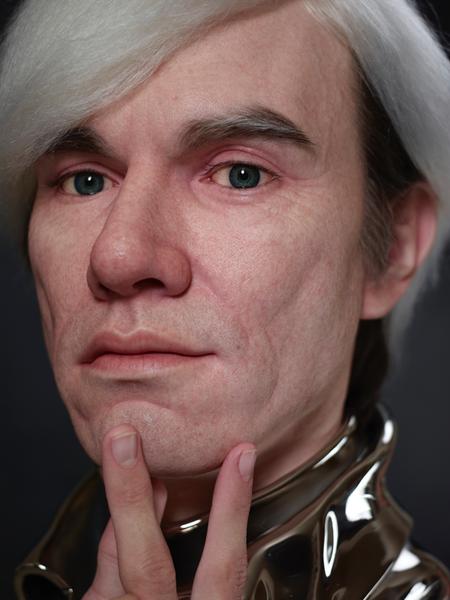 Kazuhiro Tsuji Hyperreal Sculpture Warhol 01