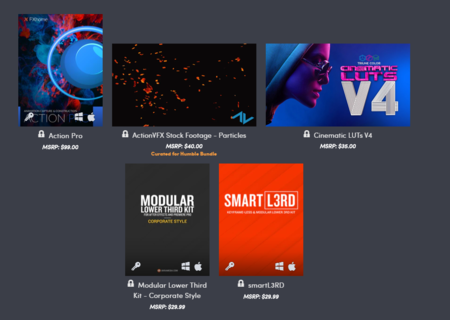 Software Cine Humble Bundle