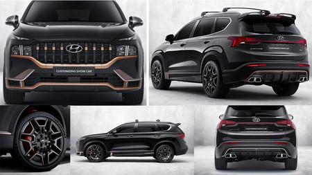 El Hyundai Santa Fe, se viste con elementos deportivos de N Performance porque quiere y puede