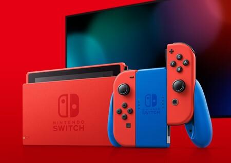 Consola Nintendo Switch color rojo en México, edición de Mario Bros.