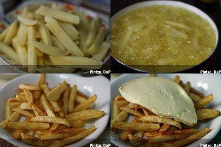 Receta de patatas al Bon Grivois. Pasos