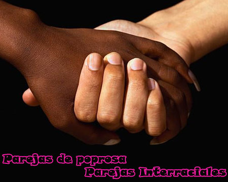 parejas de poprosa interraciales
