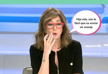 """Ana Rosa Quintana, muy crítica con Rocío Carrasco: """"No estás preparada para hablar con tu hija, pero sí para lanzar el mensaje a tres millones de personas"""""""