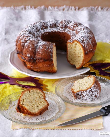 Bizcocho Berlingozzo: receta italiana para desayunos y meriendas de Carnaval