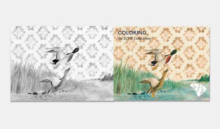 En esta web consigues decenas de libros gratis para colorear de más de 100 instituciones culturales de todo el mundo