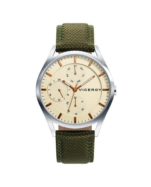 Reloj de Hombre Viceroy Beat multifunción de acero con correa de nylon