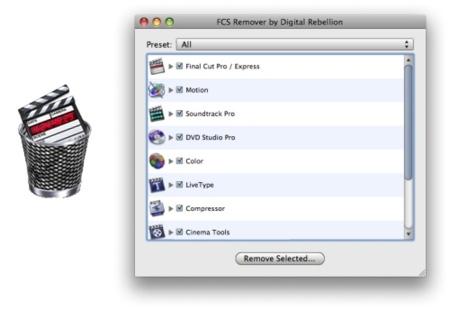 FCS Remover, para desinstalar Final Cut de forma sencilla