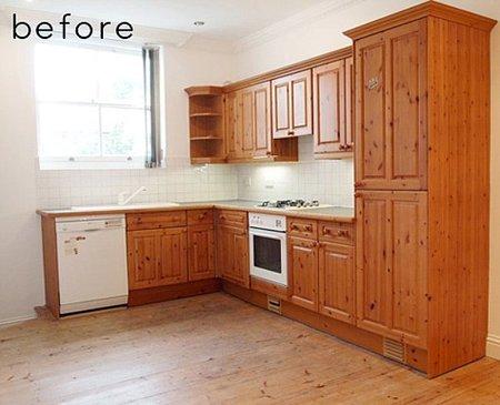 Antes y después: una cocina rústica que se moderniza