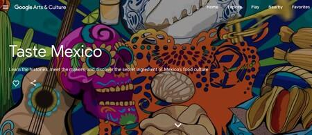 Google Culture Arts Sabores Mexico Gastronomia