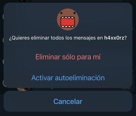 Telegram Caducidad Mensajes 3