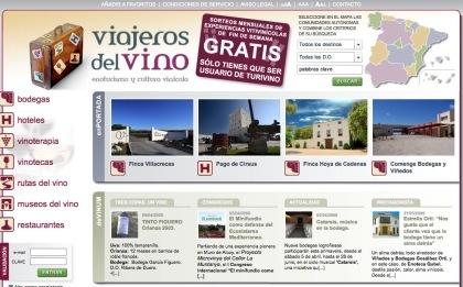 Viajeros del vino, una web de enoturismo