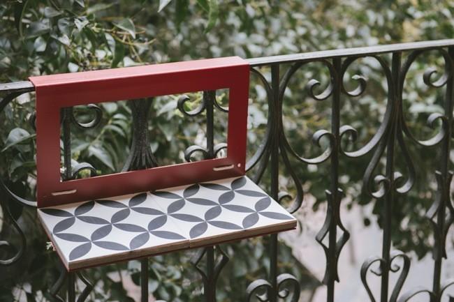 Manuela la mini mesa perfecta para disfrutar de los - Mesa para balcon ...