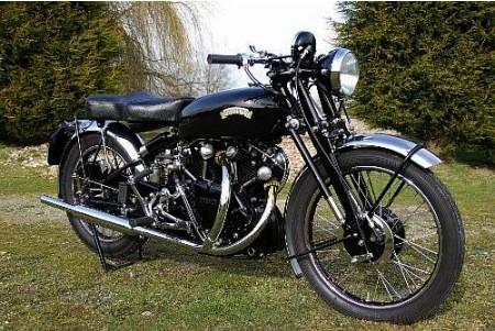 1953 Vincent 998cc Series-C Black Shadow