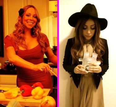 Lady Gaga se pone tan navideña que twittea a Mariah Carey