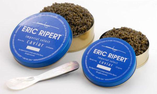 Caviar de Eric Ripert, chef de Le Bernardin