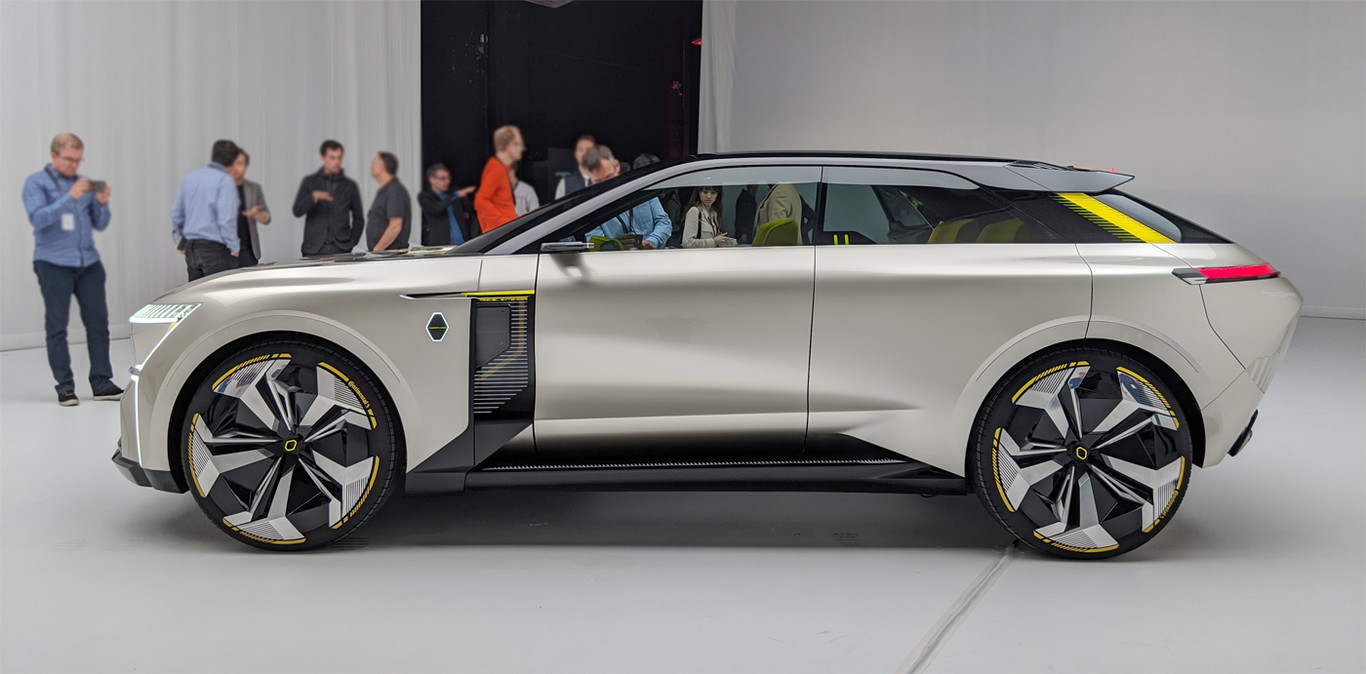 Renault Morphoz Lateral