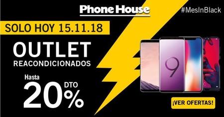 Mes in Black en Phone House: hasta un 20% de descuento en móviles reacondicionados