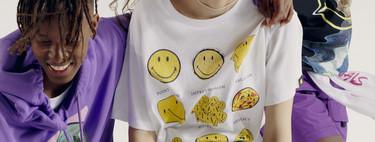 Pull & Bear quiere que sonriamos y lo hace mediante una colección cápsula con smileys