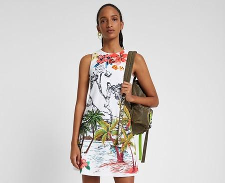 11 ofertas en tallas sueltas de camisetas, vestidos o faldas Desigual en Amazon