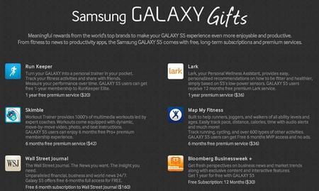 Samsung Galaxy S5 vendrá con más de 500 dólares en apps y servicios