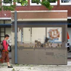 Foto 2 de 5 de la galería mosaicos-pinturas-y-grabados-utilizados-para-el-camuflaje-urbano en Decoesfera