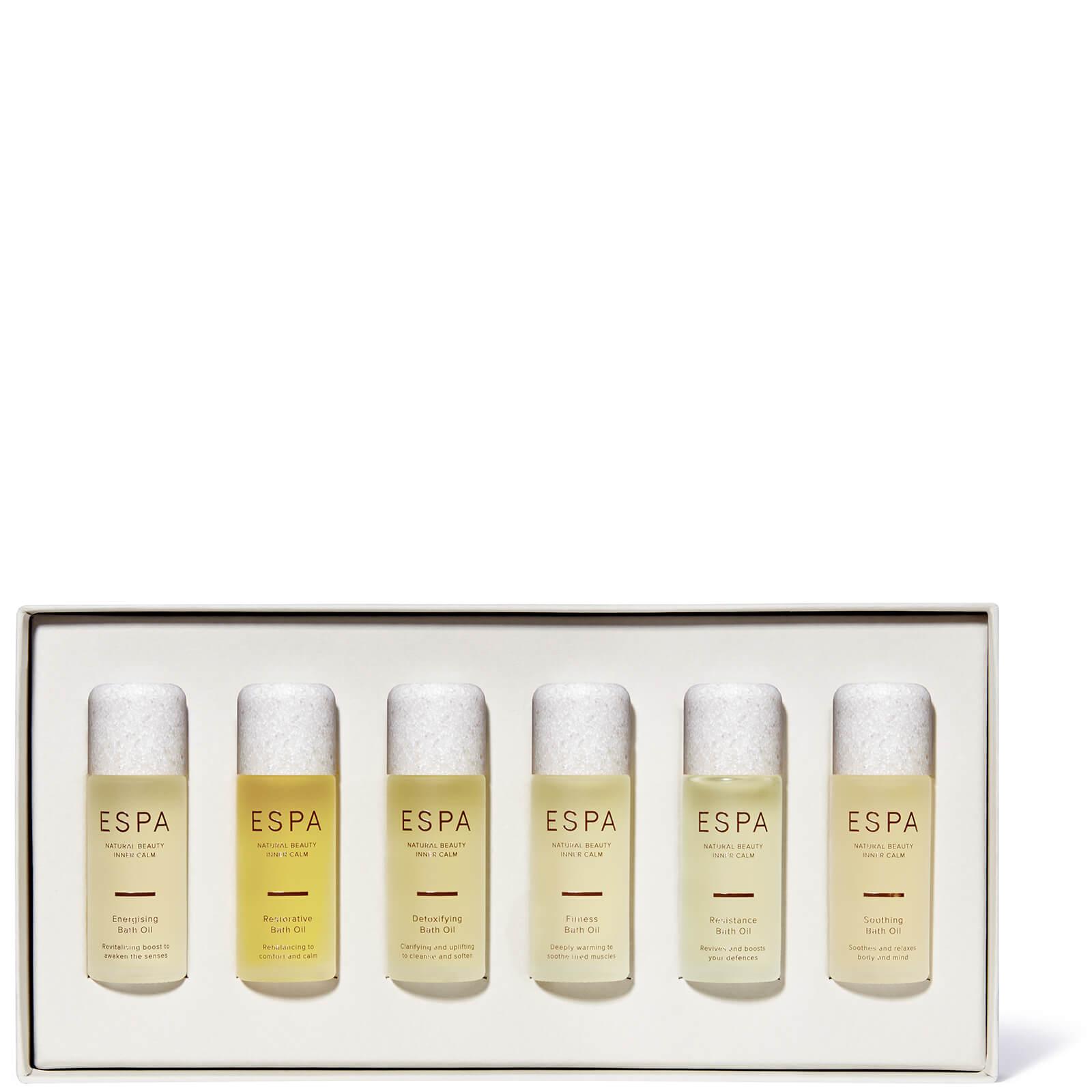 Colección Bath Oil de ESPA