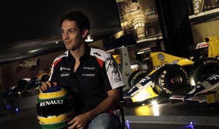 Bruno Senna, favorito para ocupar el segundo asiento de Caterham