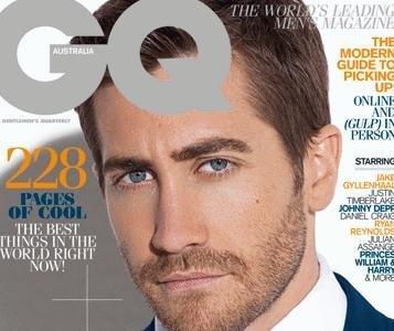 Jake Gyllenhaal de nuevo en la portada del GQ, esta vez en el 'september issue' de la edición australiana