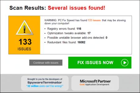 "Windows al fin te protegerá de instalar programas basura que usan el timo de ""Hemos detectado 500 errores en tu PC"""