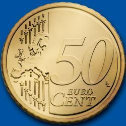 Hay demasiadas monedas de 50 céntimos