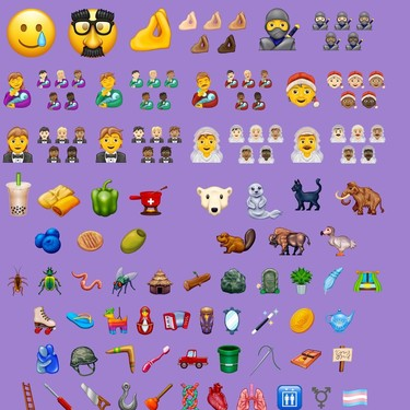Ya sabemos qué nuevos emojis podremos usar este 2020 (y nos encanta el del hombre dando el biberón)