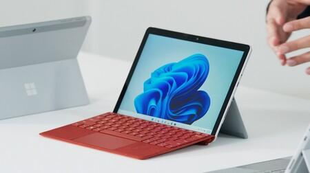 Microsoft Surface Go 3: nuevos procesadores de Intel para aumentar hasta un 60% el rendimiento de su tablet con Windows más barata