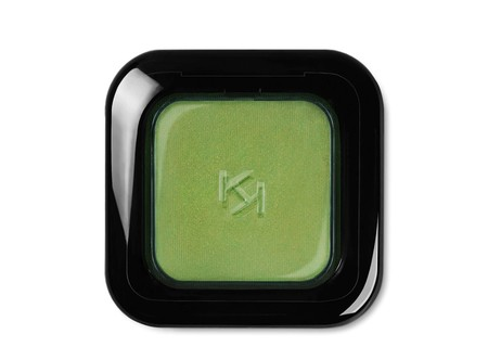 High Pigment Wet And Dry Eyeshadow Tono Pearly Lime Green De Kiko