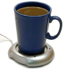 Base USB que calienta tus bebidas