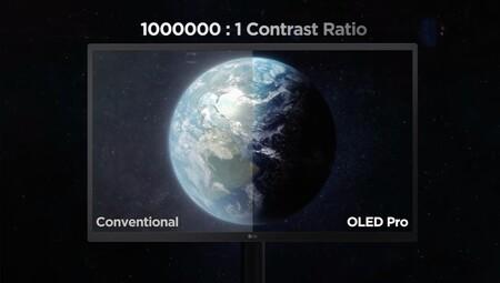 LG presenta el UltraFine OLED Pro, su nuevo monitor de 31,5 pulgadas con panel OLED y resolución 4K