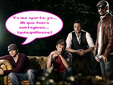 La gripe A ataca a los Backstreet Boys