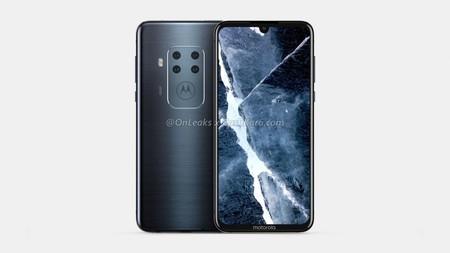 Smartphone Motorola Cuatro Camaras Notch Gota