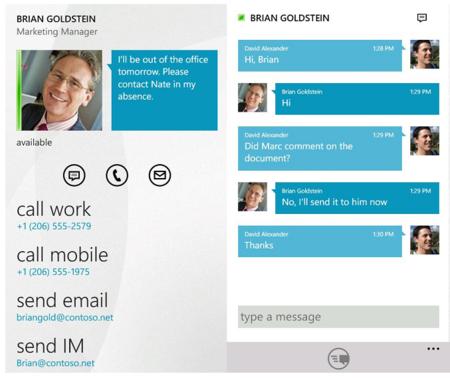 Microsoft Lync 2010 disponible para Windows Phone 7