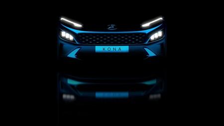 Hyundai Kona 2021 Teaser 2