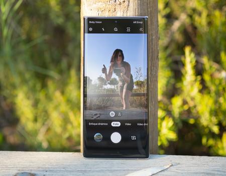 Samsung Galaxy Note 10 Plus Camara Frontal