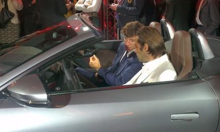 Nicolás Vallejo- Nájera y Jordi Mollá en el Nuevo Jaguar F-TYPE