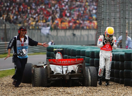 Lewis Hamilton China 2007