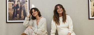 """Sara Carbonero e Isabel Jiménez hablan sobre su nueva colección cápsula de Slow Love con Cortefiel: """"cada una de las prendas tiene un detalle sostenible que aparece en la etiqueta"""""""