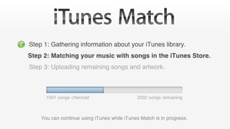 iTunes Match iCloud streaming