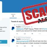 ¿Has recibido un tuit de Paypal? Cuidado, podrían robar tu contraseña