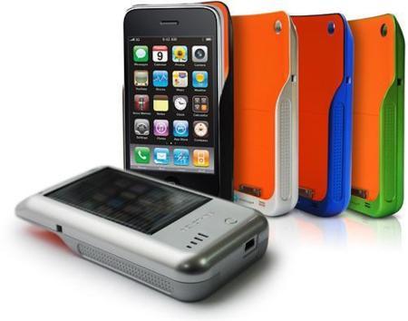 NovoThink, carcasa y cargador solar para iPod y iPhone